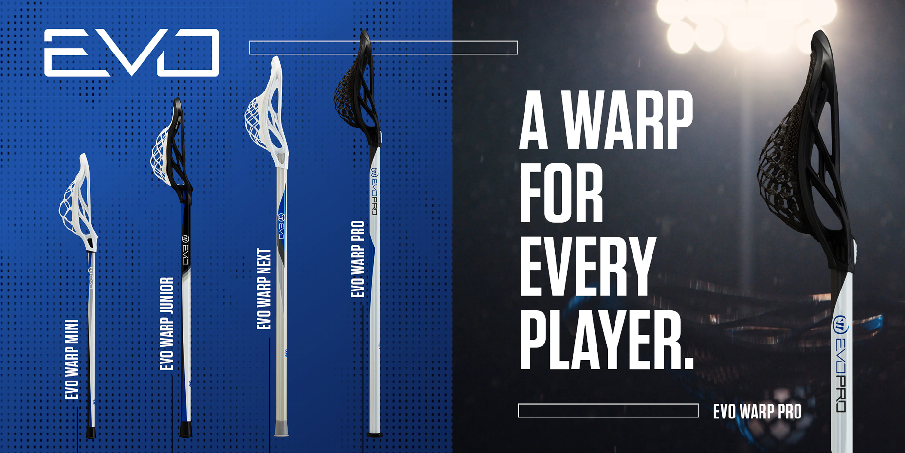 Warrior Lacrosse Sports Product Photographer
